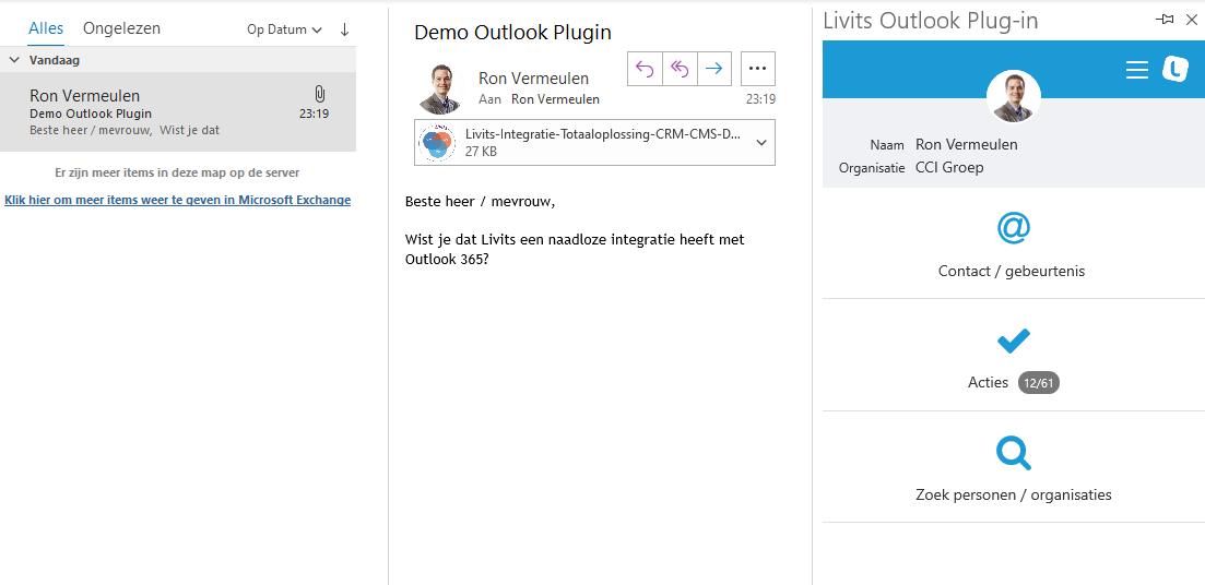 Livits-Outlook-Plugin